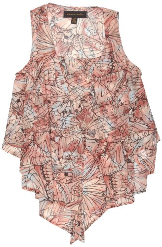 House of Dereon 2 Layer Women's Tank Top Butterfly CamoVibrant