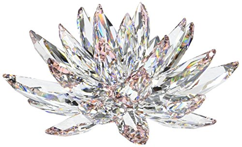 Swarovski Lotus Figurines (Swarovski Crystal Flower compare prices)