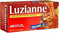 Luzianne for Iced Tea, 48-Count Family Size Tea Bags (Pack of 4)