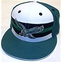 Philadelphia Eagles Flat Bill Fitted Reebok Hat - 7 - Vintage Collection