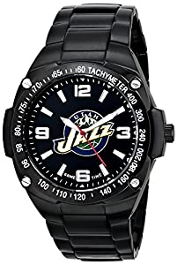 Buy Game Time Mens NBA Gladiator Triple Black Watch - Utah Jazz by Game Time