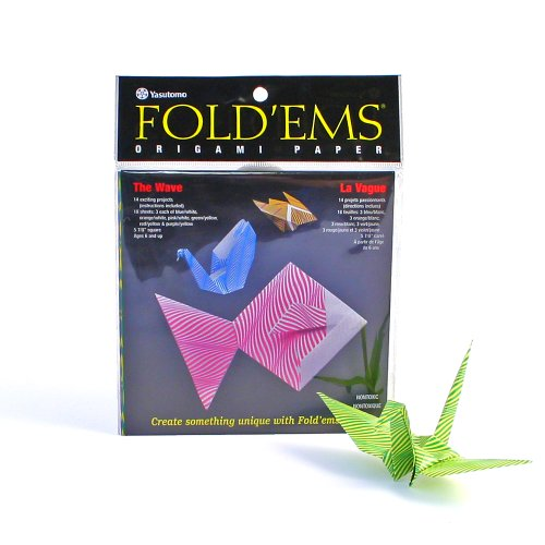 Wave Origami Craft Folding Paper