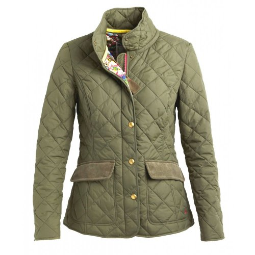 Joules Moredale Womens Jacket - Green - 10