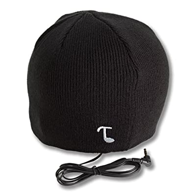 SPINC SP Tooks CLASSIC Headphone Beanie With Built-in Removable Headphones - COLOR: BLACK at Sears.com