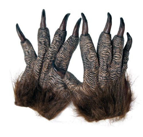 Wolfman Hands - Werewolf Costume Gloves