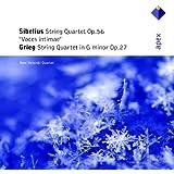 """Sibelius : Quatuor à cordes Opus 56 """"Voix Intimes"""" - Grieg : Quatuor à cordes Opus 27"""