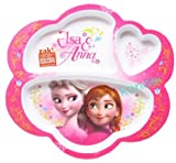 Disney Frozen Elsa and Anna Divided Plate BPA-free