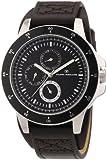 TOM TAILOR Herren-Armbanduhr XL Analog Quarz Leder 5411304