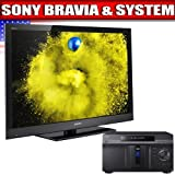 Sony BRAVIA EX 500 Series 55-Inch LCD TV, Black + Sony BDP-CX960 400 Disc B ....