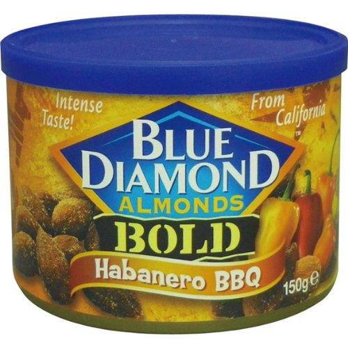 ブルーダイヤモンド ハバネロバーベキュー味アーモンド 150g