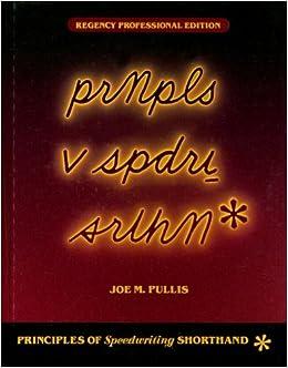 Pullis speedwriting alphabet