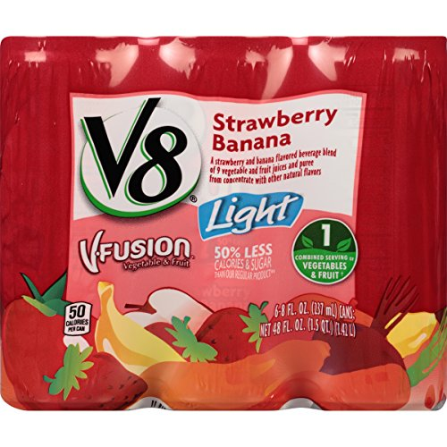v8-v-fusion-light-strawberry-banana-8-ounce-6-count-pack-of-4