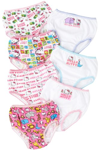 Hello Kitty Toddler 7-pk. Girls Brief Panties 2-3 Multi