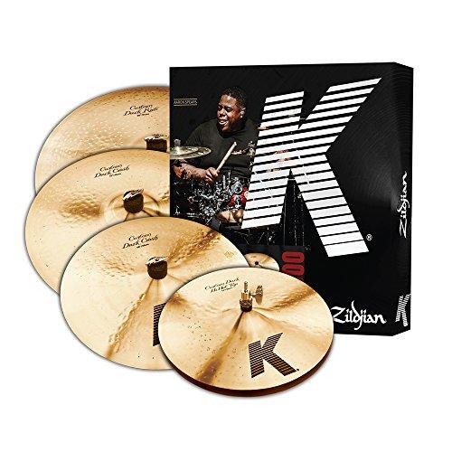 Zildjian-K-Custom-Dark-Cymbal-Box-Set-Plus-18in-Crash-KCD900
