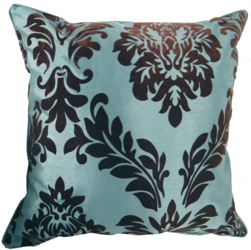 45cm x 45cm Flock Effect Faux Silk Scatter Sofa Cushion Covers Available In Choice Of Various Colours!!