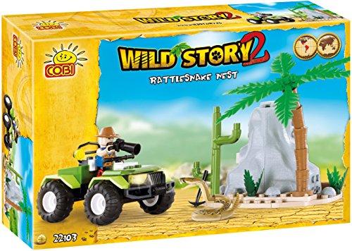 COBI Wild Story Rattlesnake Nest Building Kit - 1