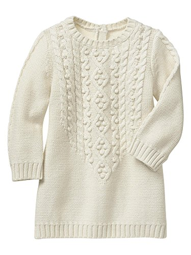 Gap Baby Factory Cable Knit Dress Size 3-6 M front-839295