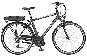 Prophete Herren E-Bike E-Novation Navigator 8-Gang Deore, Nachtblau Matt, 52 cm, 51445-0111