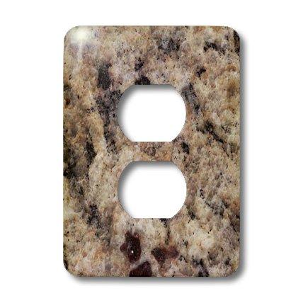 3dRose LLC lsp_97961_6 Napoli Venetian Gold Granite  2 Plug Outlet Cover