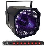Package: American DJ UV Canon 400 Watt High Powered Blacklight + American DJ PC-100A 8-Switch Rack Mount On/Off AC Power Strip Source