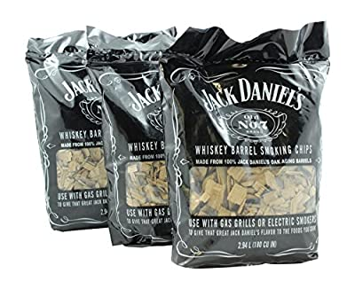 Packaging Service Co Inc Authentic Jack Daniels Wood Smoking Chips - 1749 (Pack of 3)