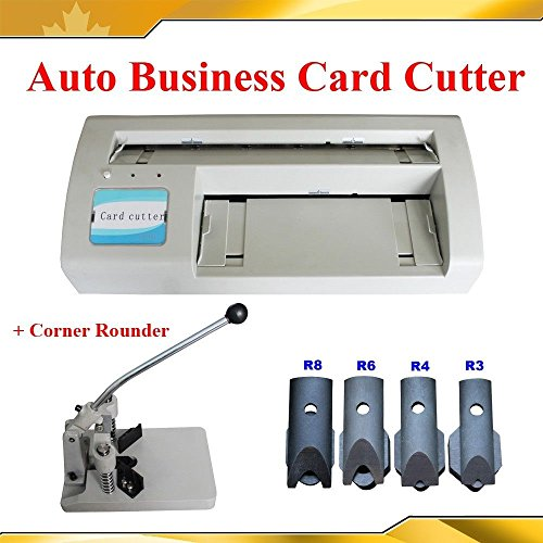 Electric Business Card Slitter +Corner Rounder Machine R3/4/6/8/10 (Photocopying Machine compare prices)