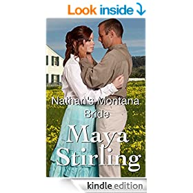 Nathan's Montana Bride (Sweet Historical Mail Order Bride Romance) (Montana Ranchers Brides series)