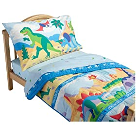 Olive Kids Dinosaurland Toddler Comforter Bed Set