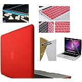 "IFyx Matte Rubberized Hard Protective Shell Case Cover Skin For Apple Macbook Air 13 Inch 13.3"" & Keyguard & Free... - B01ESXYZKU"