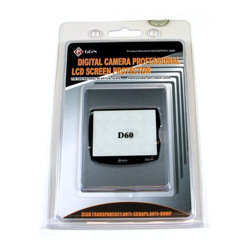 GGS DSLR LCD Optical Glass Screen Protector for Nikon D60 cameras