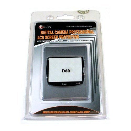GGS DSLR LCD Optical Glass Screen Protector for Nikon D60 cameras