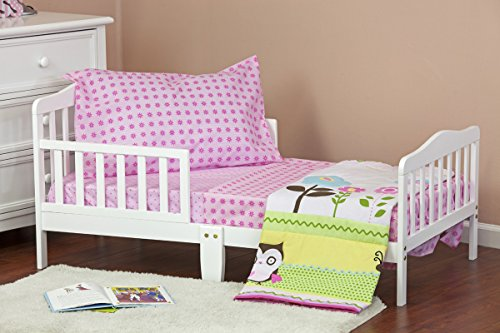 Dream On Me Baby Owl 4 Piece Toddler Bedding Set - 1