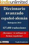 Diccionario avanzado espa�ol-aleman B...