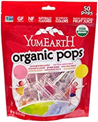 YumEarth Organic Lollipops, 12.3 Ounc…