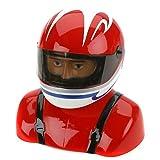 Hangar 9 35%-40% Painted Pilot Helmet Red/White/Blue おもちゃ [並行輸入品]
