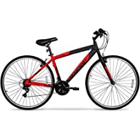 Hyper SpinFit 700c Mens Hybrid Bike (Red)