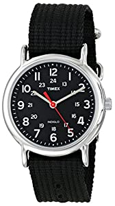 "Timex Men's T2N647 ""Weekender"" Watch with Black Nylon Strap"