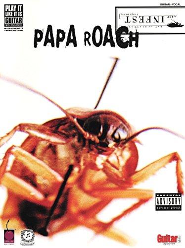 cherry-lane-papa-roach-infest-tab-sheet-music-pop-rock-guitar-tablatures