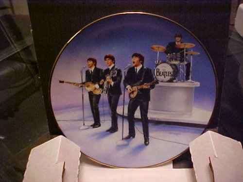 The Beatles Live in Concert Delphi Plate Bradford Exchange