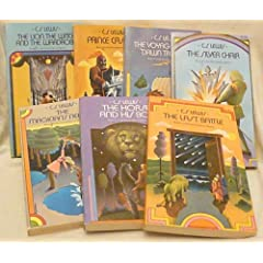 """The Chronicles of Narnia (7-Book Box Set includes """"The Lion, the Witch and the Wardrobe,"""" """"Prince Caspian,"""" """"The Voyage of the Dawn Treader,"""" """"The Silver Chair,"""" """"The Magician's Nephew,"""" """" The Horse and His Boy"""" and """"The Last Battle"""")"""