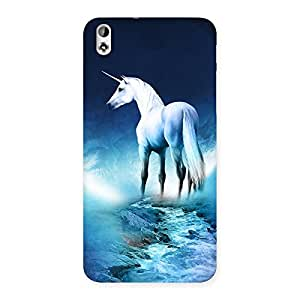 Unicorn Horse Print Back Case Cover for HTC Desire 816s