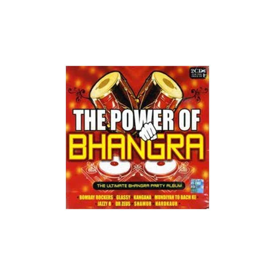 The Power of Bhangra CD(Hindi Songs/ Indian Music/Bollywood Sound