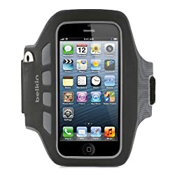 Belkin EaseFit Plus Armband For New Apple iPhone 5 (Black)