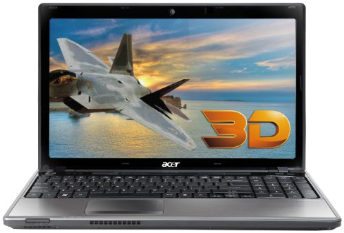 Acer AS5745DG-3855 15.6-Inch 3D Laptop (Black)