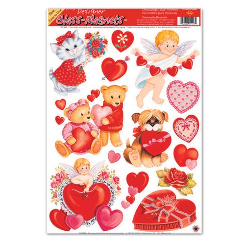 Valentine Clings Party Accessory (1 Count) (13/Sh)