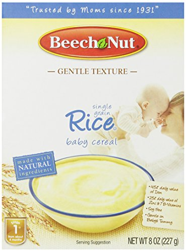 Beech Nut Homestyle Single Grain Rice Baby Cereal 4 pack