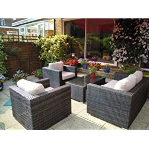 Rattan Garden Furniture Maze Rattan Denver Luxury Sofa Set Resin Garden Furniture Online Store