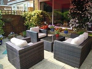 gray rattan garden furniture