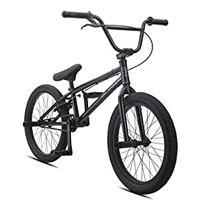 "SE Bicycles Wildman BMX Bicycle, Black, 20""/One Size"