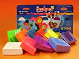 Sculpey III Pack of 10 Bright Ideas (Intense Colors)